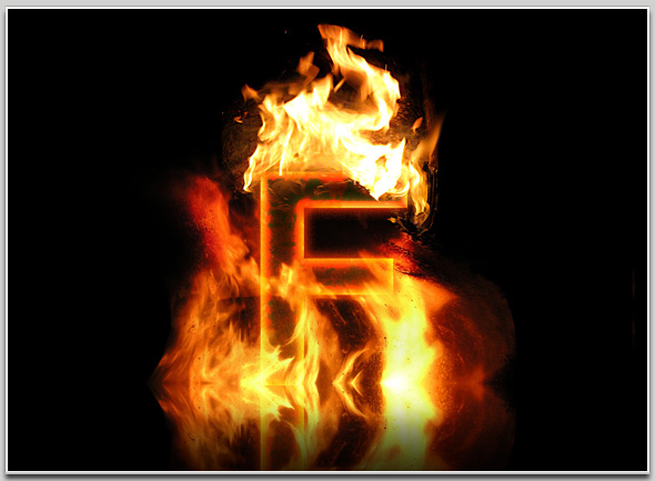 Real Fire Text Creator - Artorius Design